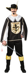 View Item Black Musketeer Costume