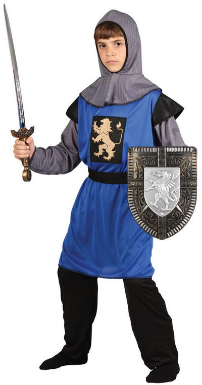 Boy's Medieval Round Knight Costume