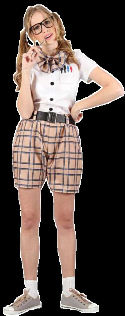 High School Nerd Costume