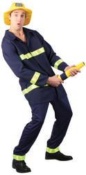View Item Big Hose Brigade Fireman Costume