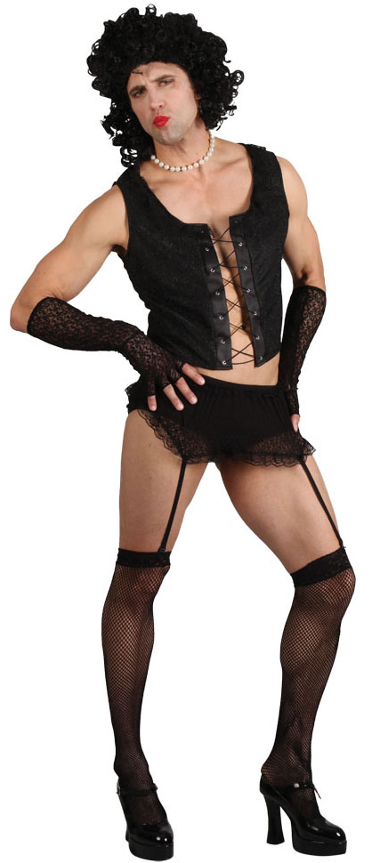 Transvestite Funny Rock Guy Costume Stag Party Costumes