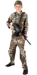 View Item Teen Action Commando Fancy Dress Costume