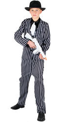 View Item Boys Teen Chicago Gangster Fancy Dress Costume