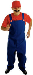 View Item Red Plumbers Mate 80s Costume