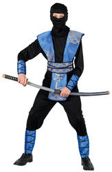 View Item Teen Ninja Master Fancy Dress Costume