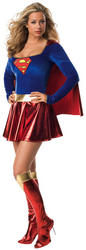 View Item Deluxe Supergirl Costume