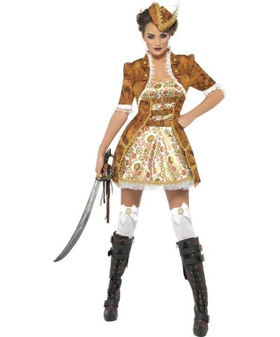 View Item Steam Punk Sexy Pirate Halloween Costume