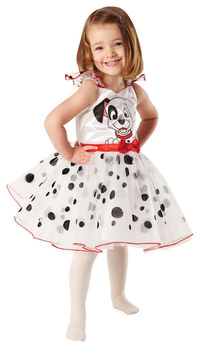 Girl's Disney 101 Dalmations Ball Dress Costume