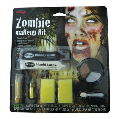 Zombie Scabs Halloween Make Up Kit