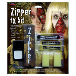Zipper Face Halloween Set