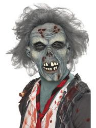 View Item Adults Decaying Zombie Mask Halloween Accessory