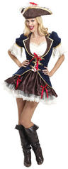 View Item Captain Buccaneer Pirate Costume