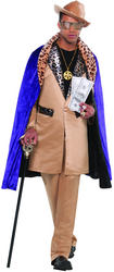 View Item Men's Beige Playa Pimp Fancy Dress Costume