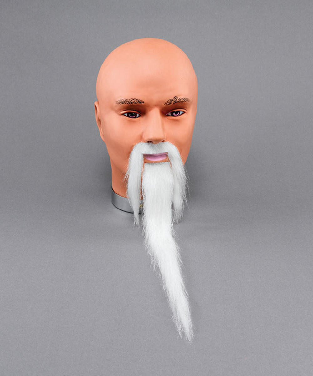 how to make a white beard whiter