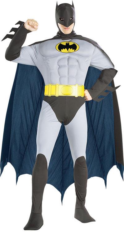 luxus muskel superhelden herren kost m batman robin superman kost m ebay. Black Bedroom Furniture Sets. Home Design Ideas