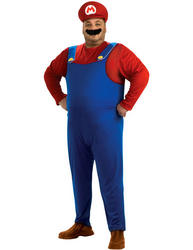 View Item Super Mario Plus Size Costume
