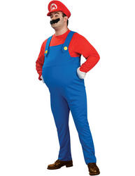View Item Deluxe Super Mario Plus Size Costume