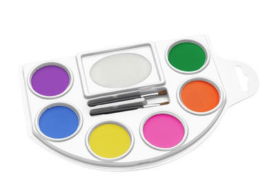 6 Colour Face and Body Paint Pallet