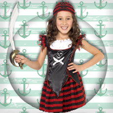 Girls Pirate Costumes