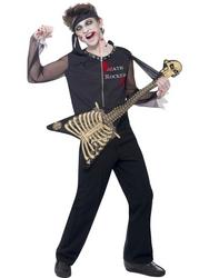 View Item Boys' Teen Death Rocker Fancy Dress Costume