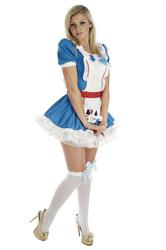 View Item Ladies' Alice in Wonderland Fancy Dress Costume
