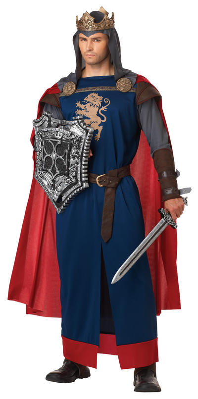 Men's Richard the Lionheart Fancy Dress Costume