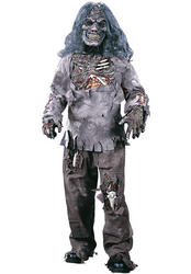 View Item Kids' Complete Zombie Halloween Fancy Dress Costume