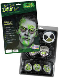 View Item Toxic Zombie Halloween Makeup Kit