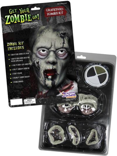 Graveyard zombie Halloween Makeup Kit