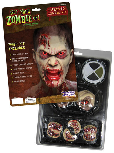 Infected Zombie Halloween Makeup Kit