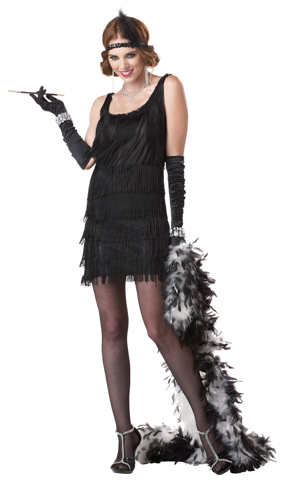 Ladies Fashion Flapper 1920s Fancy Dress Costume Womens | eBay