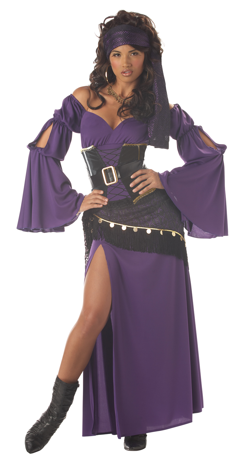 Mystic-Seductress-Gypsy-Ladies-Fortune-Teller-Fancy-Dress-Circus-Costume-UK-6-12