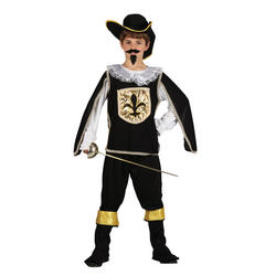 View Item Boy's Black Musketeer Costume