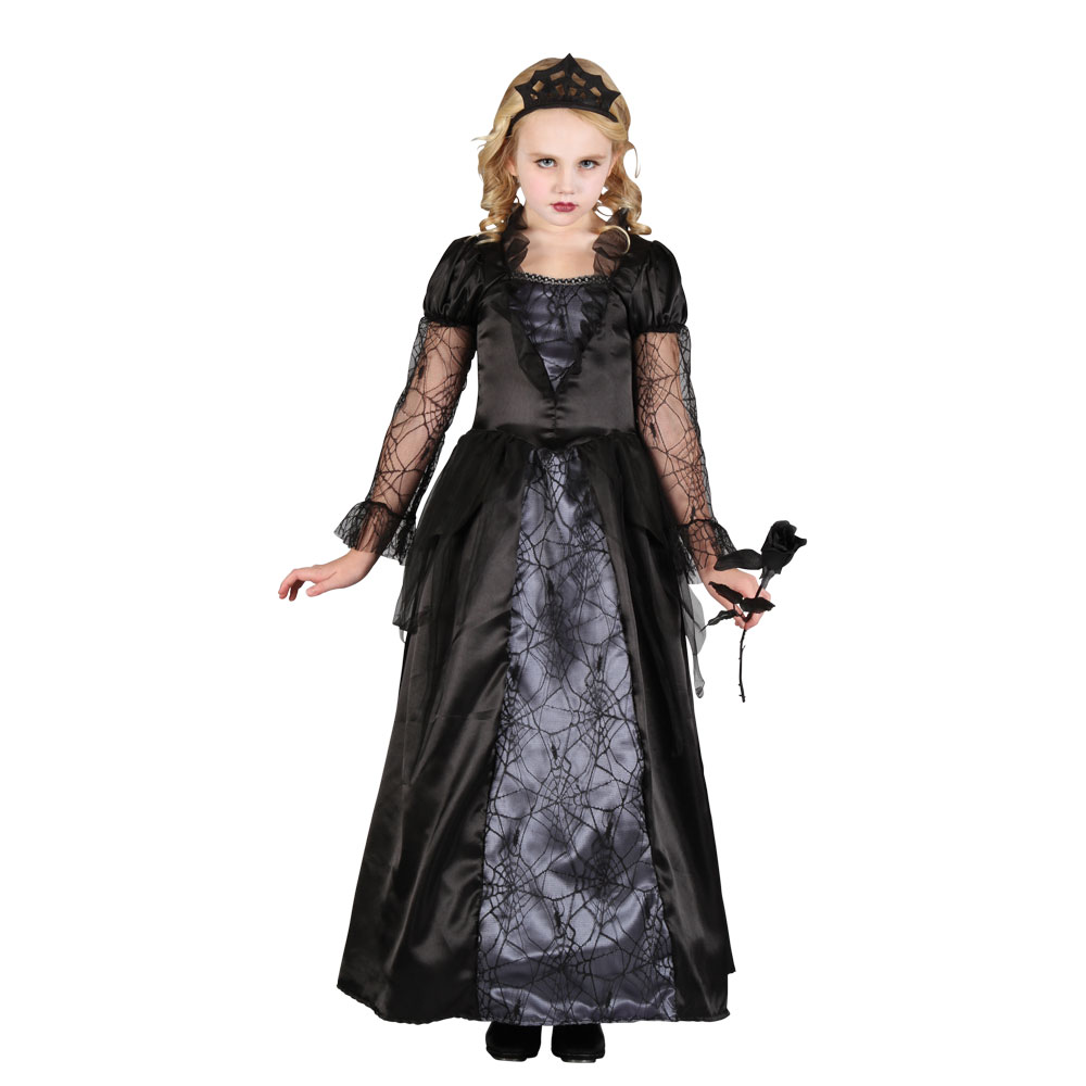 Child WICKED VAMPIRESS Halloween Girls Fancy Dress Outfit Costume Age 3-10