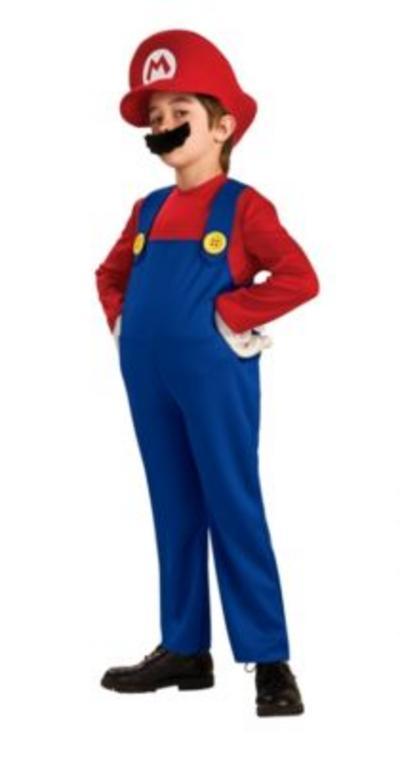 Kids' Super Mario Deluxe Costume