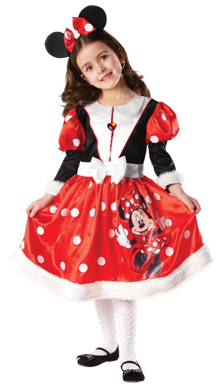 Minnie Mouse Winter Wonderland Kids Disney Girls Fancy Dress Kids ...