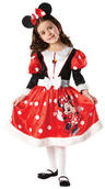 View Item Girls' Minnie Mouse Winter Wonderland Fancy Dress Costume