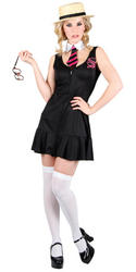 View Item Ladies' High School Hottie Fancy Dress Costume