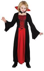 View Item Girls Vampiress Halloween Costume