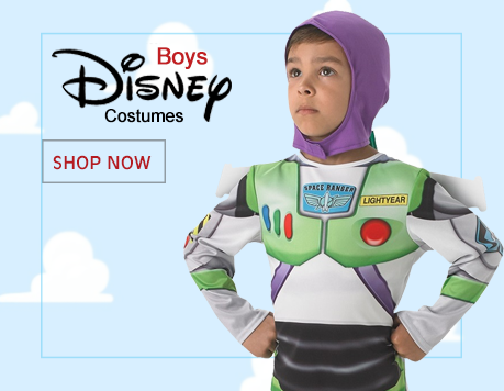 Boys Disney Costumes from Mega Fancy Dress