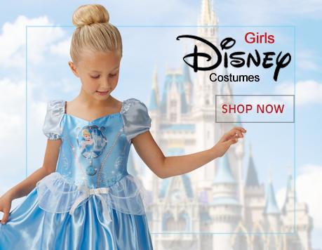 Girls Disney Princess Costumes from Mega Fancy Dress