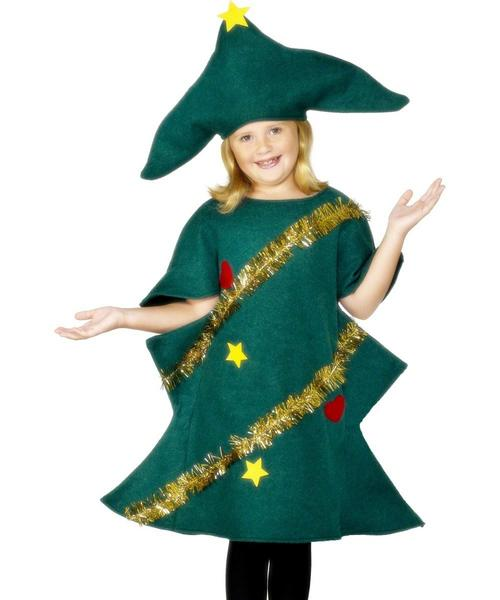 Kids christmas tree fancy dress costume kids christmas costumes