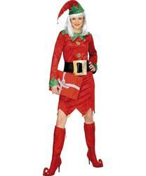 View Item Elf Christmas Costume