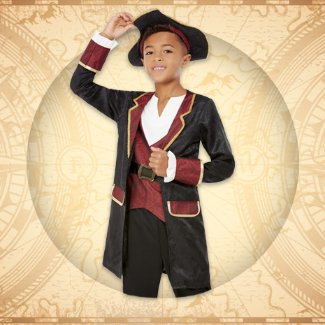Boys Pirate Costumes