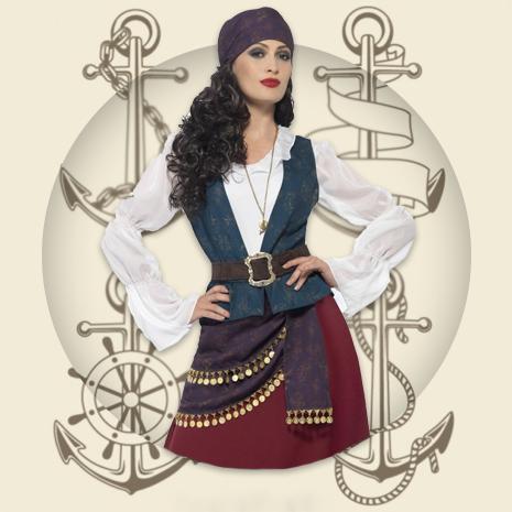 Ladies Pirate Costumes