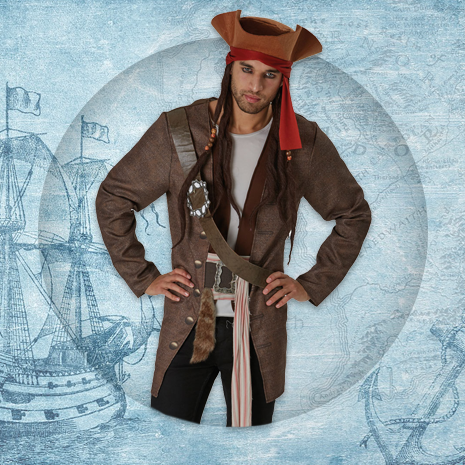 Mens Pirate Costumes