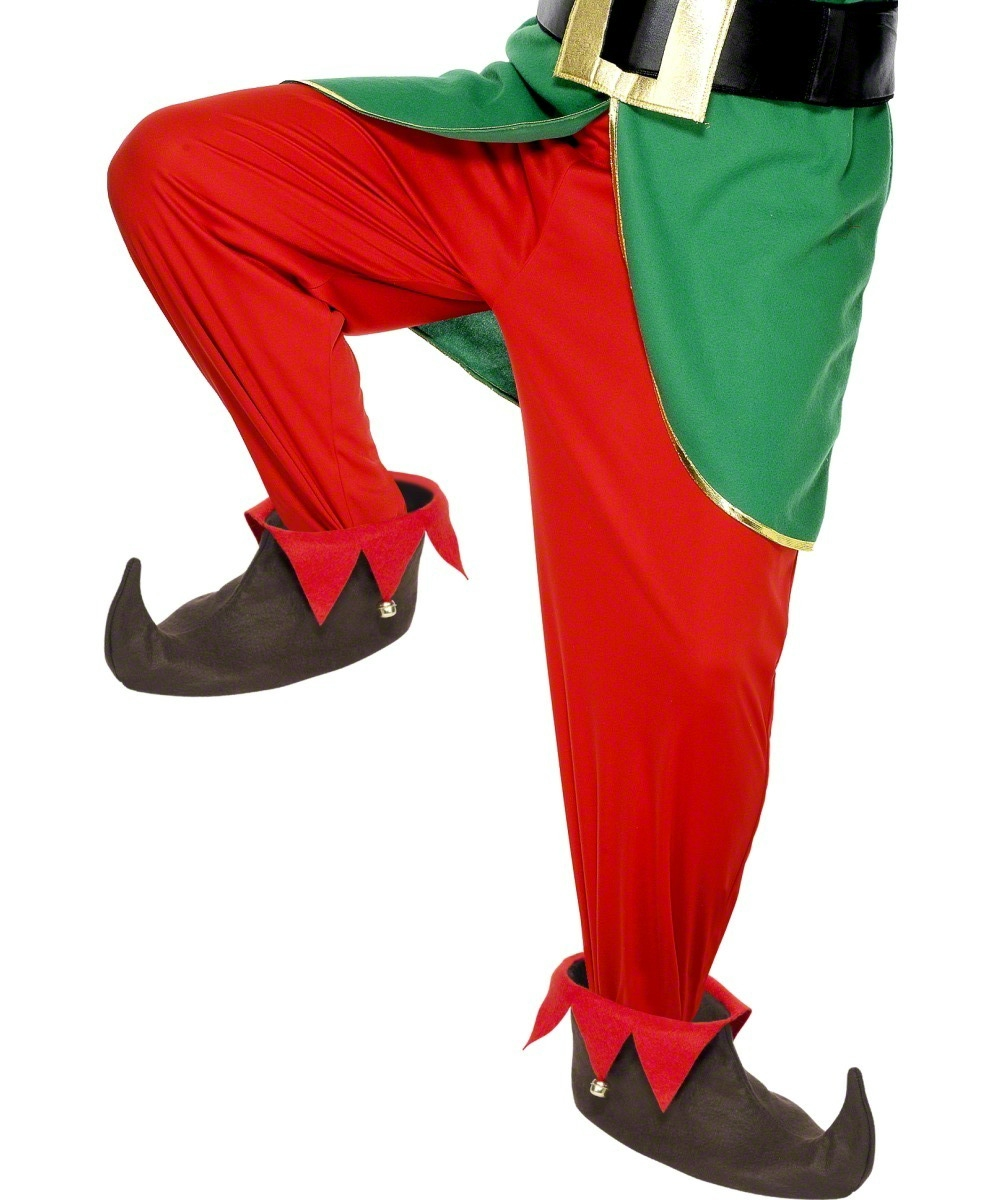 Adult's Elf Shoes | Novelty Christmas Costumes