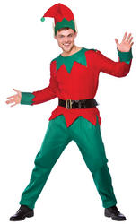 View Item Deluxe Elf Christmas Costume