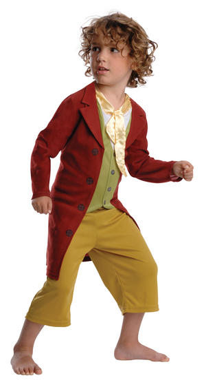 Boy's Bilbo Baggins Fancy Dress Costume