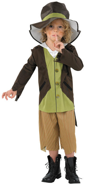 Boy's Victorian Pickpocket Costume